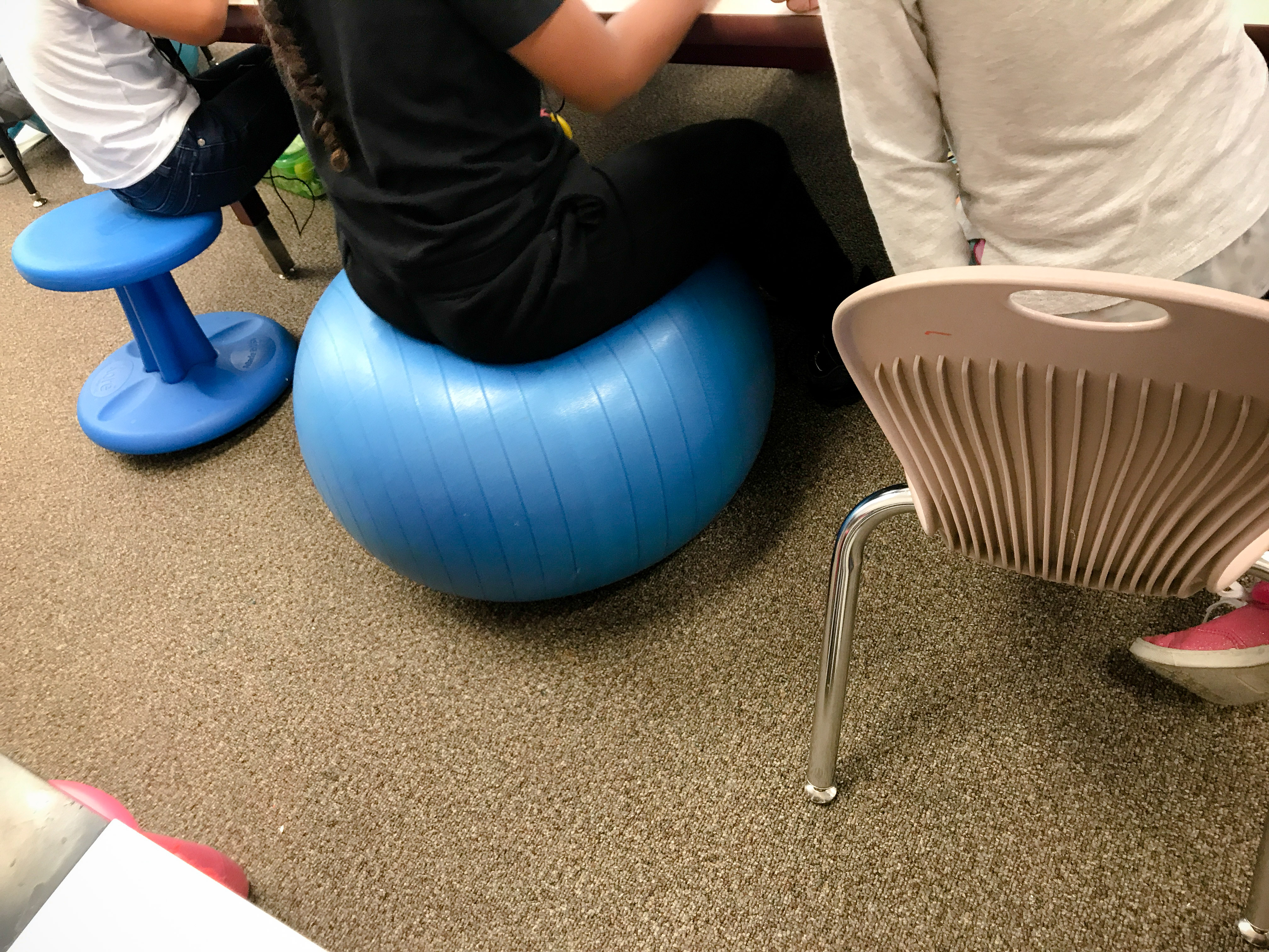 Flexible Seating – Kinder with Ms Collins